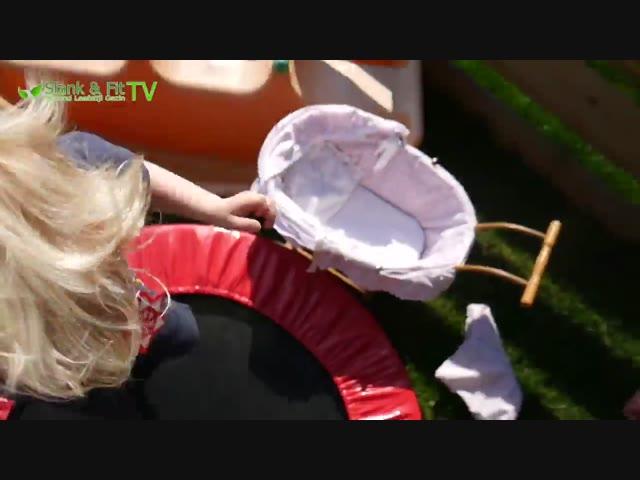 TRAMPOLINE SPRINGEN IS GEZOND | Bellinga Vlog #242