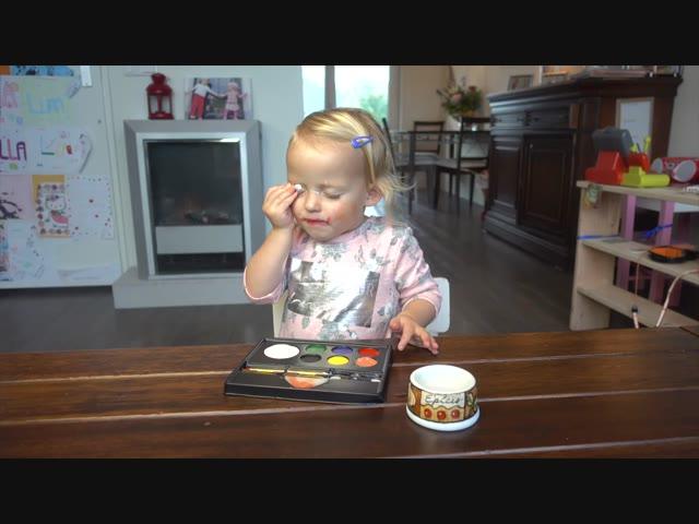 ZELF SCHMiNKEN | Lucilla Bellinga Vlog #40