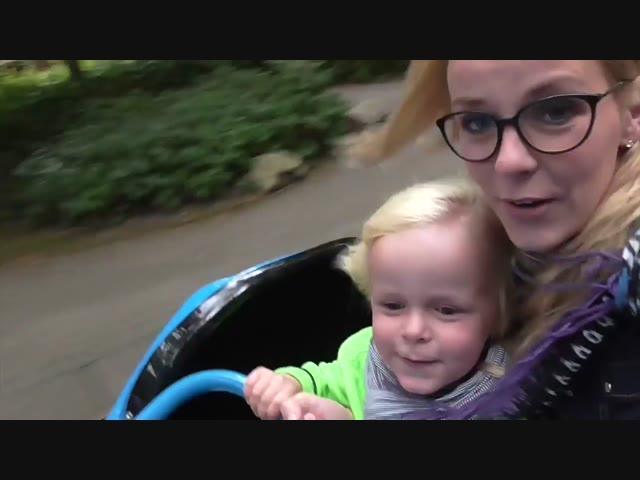 RODELEN IN DUINRELL PARK | Bellinga Vlog #410*B