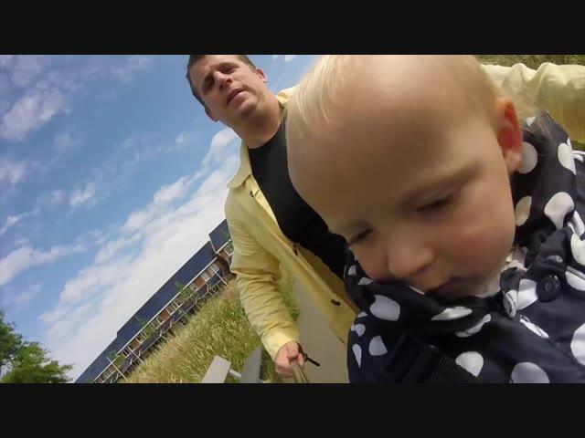 PAPA OP DE MAMA FIETS | Bellinga Vlog #320