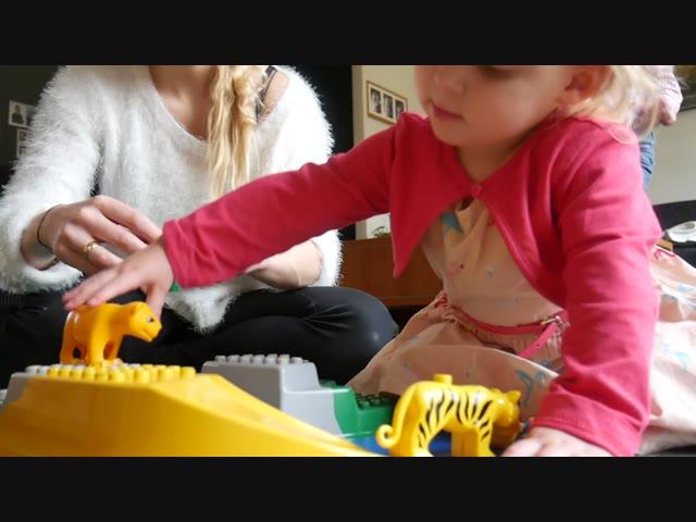 SPELEN BiJ OMA EN OPA | Bellinga Vlog #584