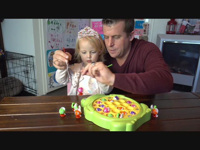 FiSHiNG GAME CHALLENGE ( met pap) | Lucilla Bellinga #49