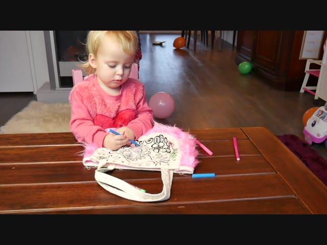 DIY LiNNEN TAS BETEKENEN | Lucilla Bellinga Vlog #10