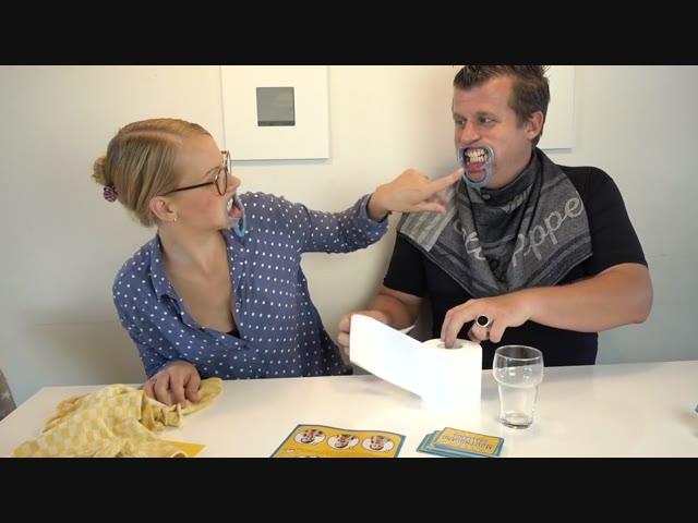 MOUTHGUARD CHALLENGE | Bellinga Familie Vlog #1036