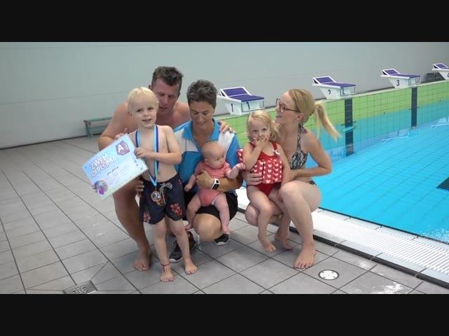 ZWEMDiPLOMA A HALEN  | Bellinga Familie Vlog #1065