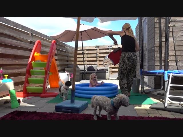 EEN KAPOT ZWEMBADJE?  | Bellinga Familie Vlog #1069