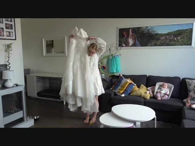 MiJN TROUWJURK PASSEN    Bellinga Familie Vlog #1047