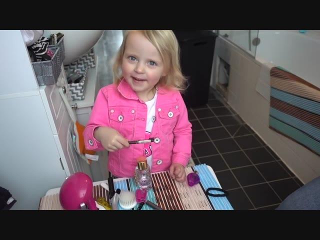LUCiLLA'S MAKE-UP ViDEO | Familie Vlog #955